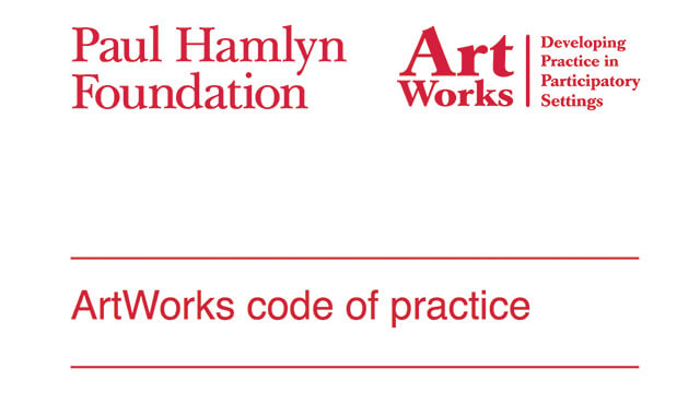 ArtWorks code of practice