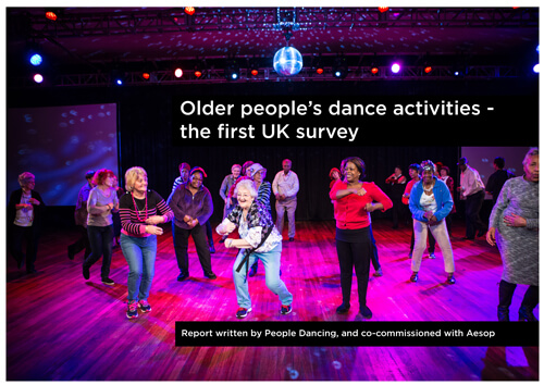Older people's dance activities – first UK survey published