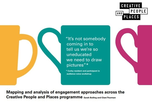 Mapping and analysis of engagement approaches across the Creative People and Places programme