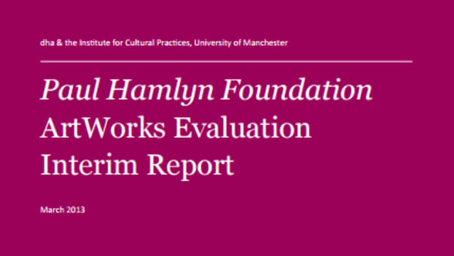 ArtWorks Evaluation Interim Report