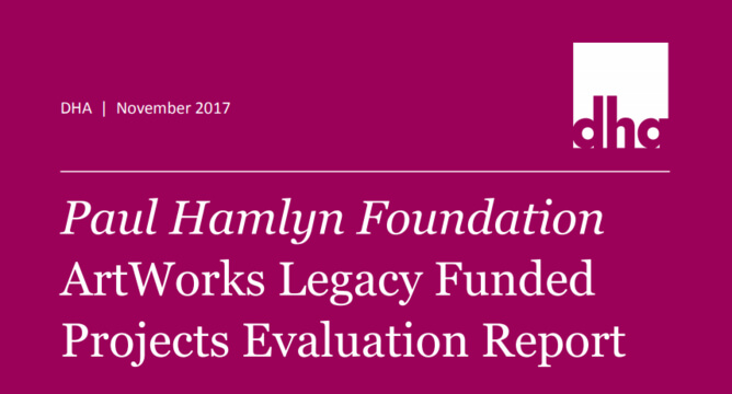 ArtWorks Legacy Funded Projects Evaluation Report