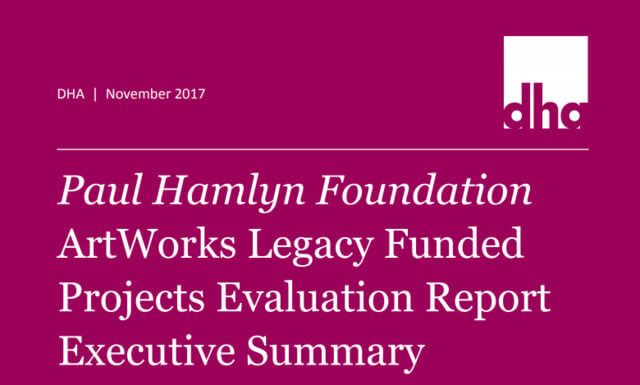 ArtWorks Legacy Funded Projects Evaluation – Executive Summary