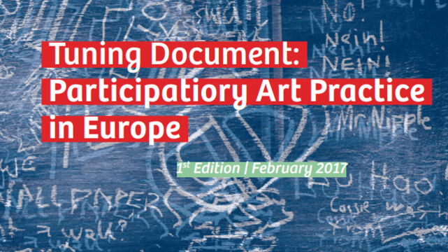 Tuning Document: Participatory Art Practice in Europe
