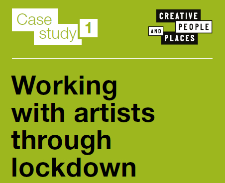 Working with artists through lockdown
